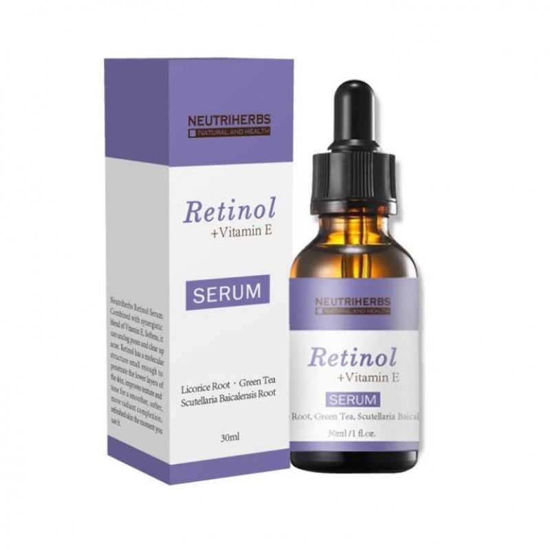 Retinol Serum 2.5% with hyaluronic acid and Vitamin E