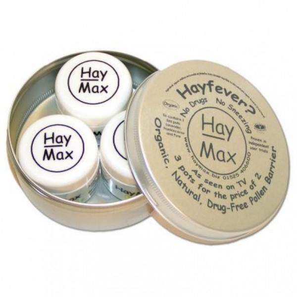 Organic Pollen Barrier Triple Pack - Hay Max | BIO Boutique