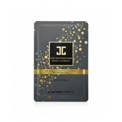 Gold Snow Black Mask - Jayjun | BIO Boutique